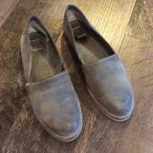 Frye slip on shoes